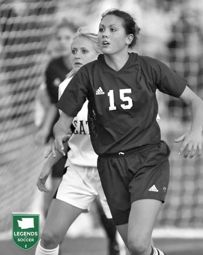Seattle Pacific's Shannon Lovejoy helped lead the Falcons to an NCAA final in just the program's fifth season.