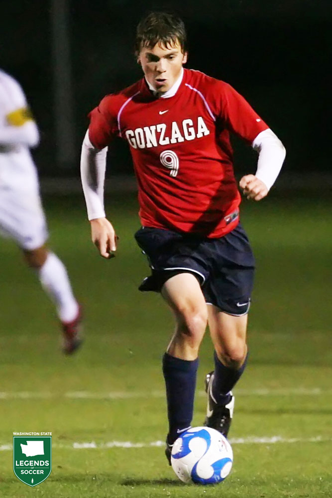George Josten led Gonzaga back to the NCAA tournament in 2007. Josten was later taken 20th overall in the MLS SuperDraft. (Courtesy Gonzaga Athletics)