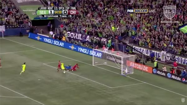 2011 Open Cup Final - Sounders vs. Fire