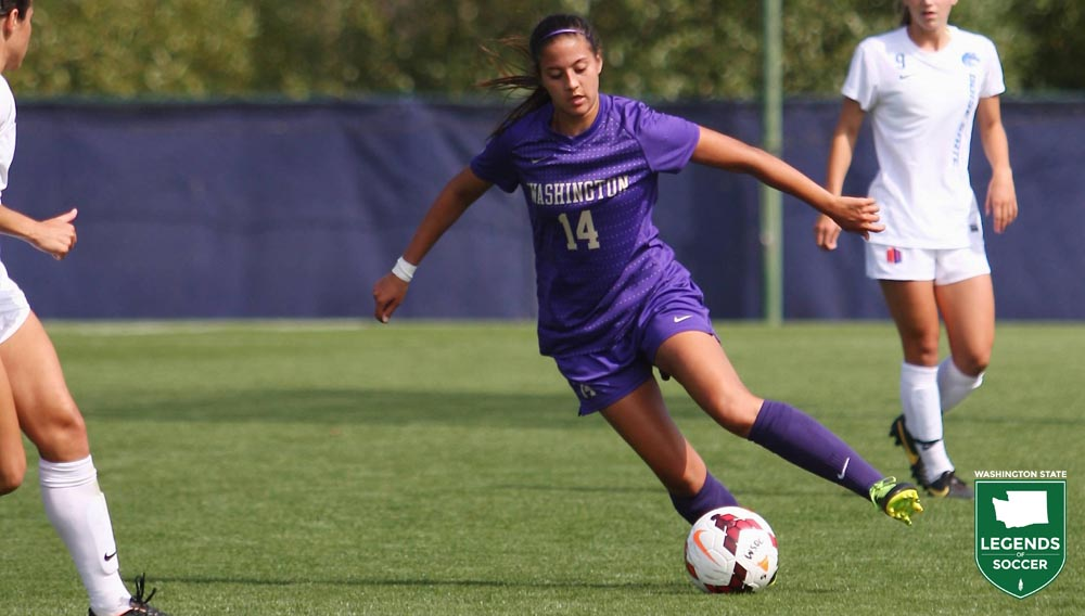 Washington Huskies standout Jaclyn Softli. (UW Athletics photo)