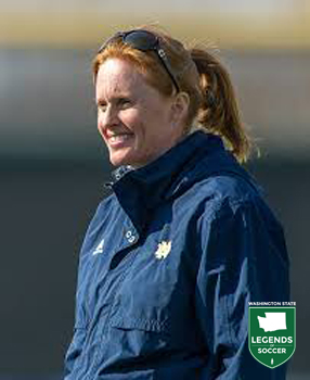 Former UW star Theresa Wagner Romagnolo of Edmonds is named Notre Dame's new head coach in March 2014 after a successful run at Dartmouth. (Notre Dame photo)