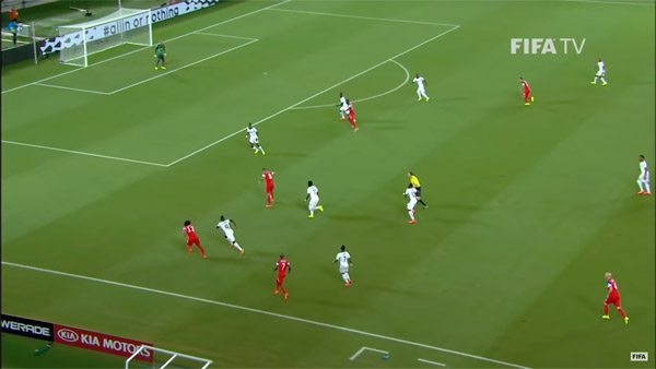 2014 World Cup match - USA vs Ghana
