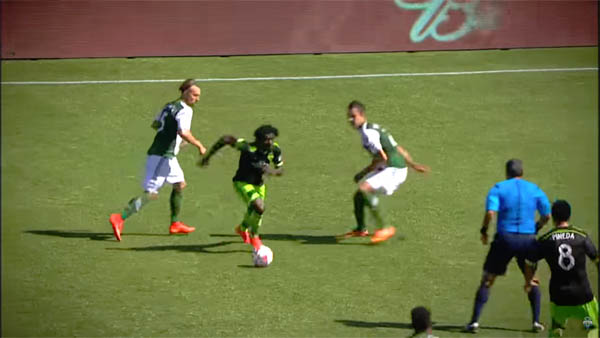 Obafemi Martins' goals from 2014