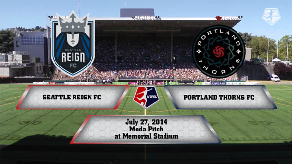 Seattle Reign vs Portland Thorns