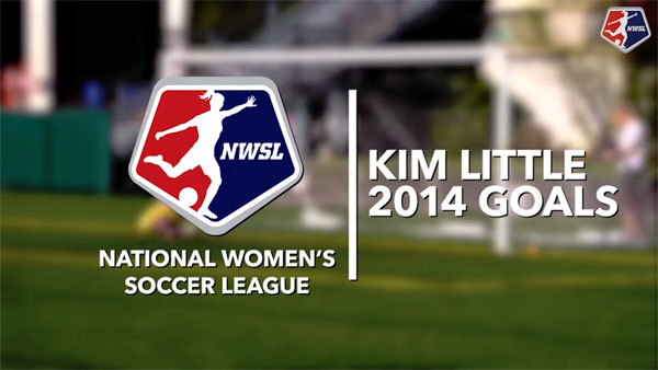 Kim Little's goals from 2014