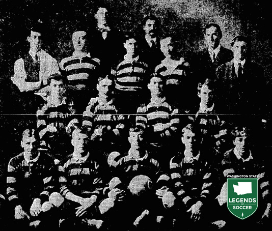 Seattle's Celtics, shown here in 1913, adopted hoops like their Glasgow namesake.