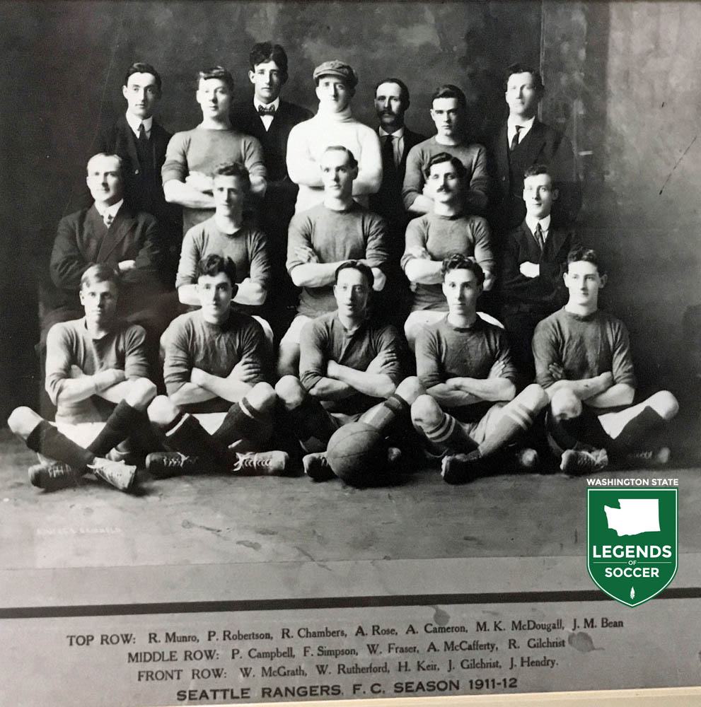 Seattle's Rangers, one of the founding members of the Northwestern Association Football League, in 1912. (Courtesy GSSL)
