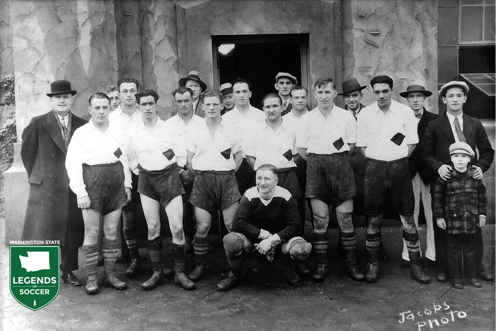Black Diamond's state league team from 1926. (Courtesy GSSL)