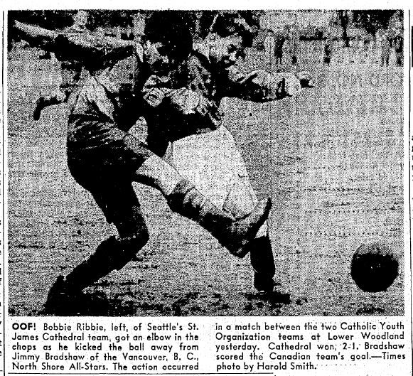 A vital win in the first leg put St. James in front, and Cathedral sealed the Oldershaw title with an away draw the next week. (Courtesy Seattle Times)