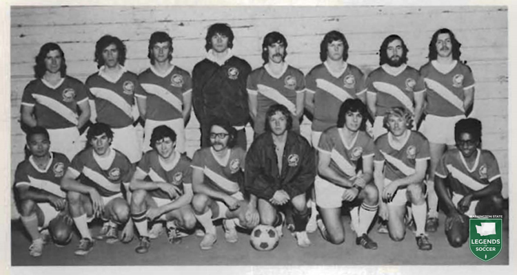 In 1972, only five varsity, four-year collegiate programs existed in Washington. All were men's and located in Puget Sound. However virtually every other school featured clubs, such as Washington State, shown here.