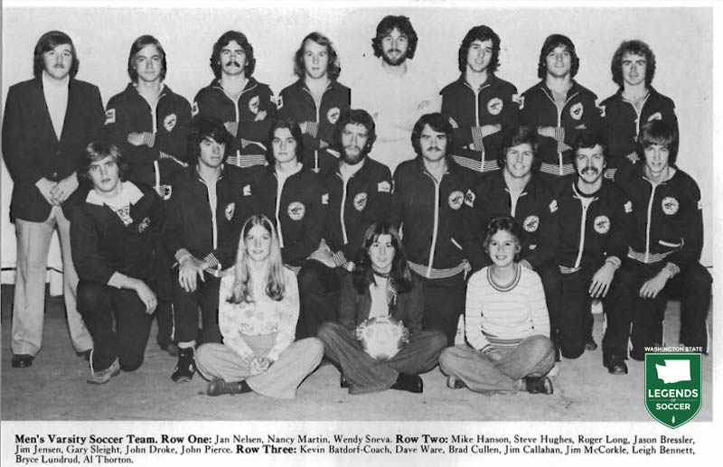 Washington State club program, 1975-76.