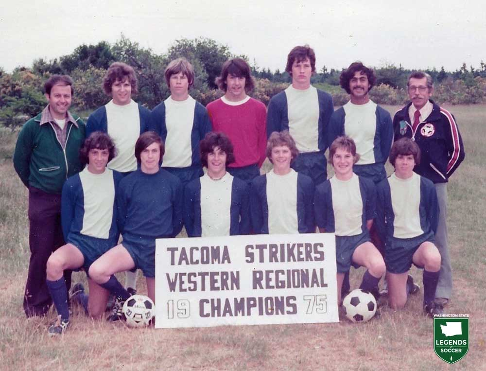 One of Washington's first regional champions, the Tacoma Strikers.