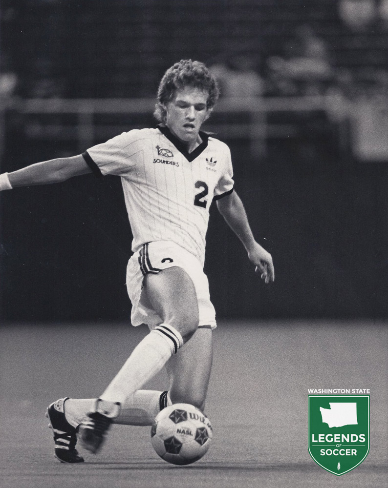 One of the brights posts in the final Sounders season of the NASL era was the emergence of their homegrown rookies, including forward Chance Fry.