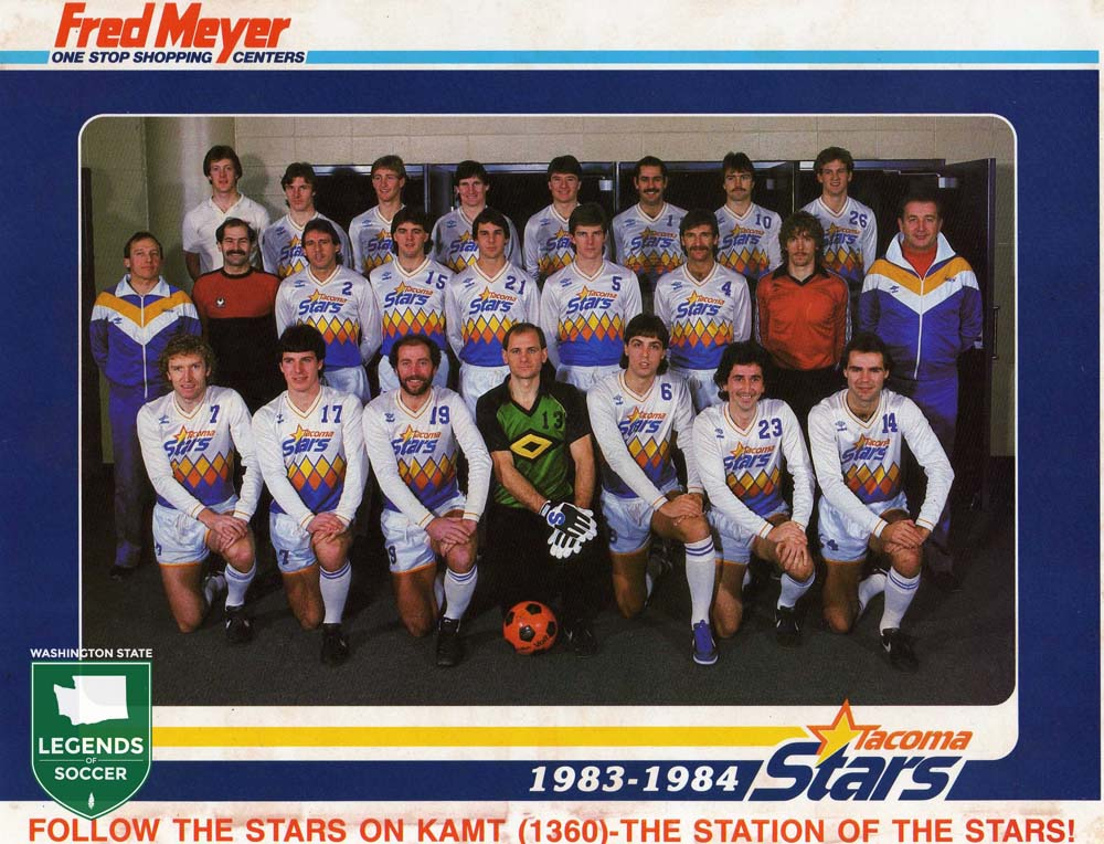 The inaugural season Tacoma Stars.