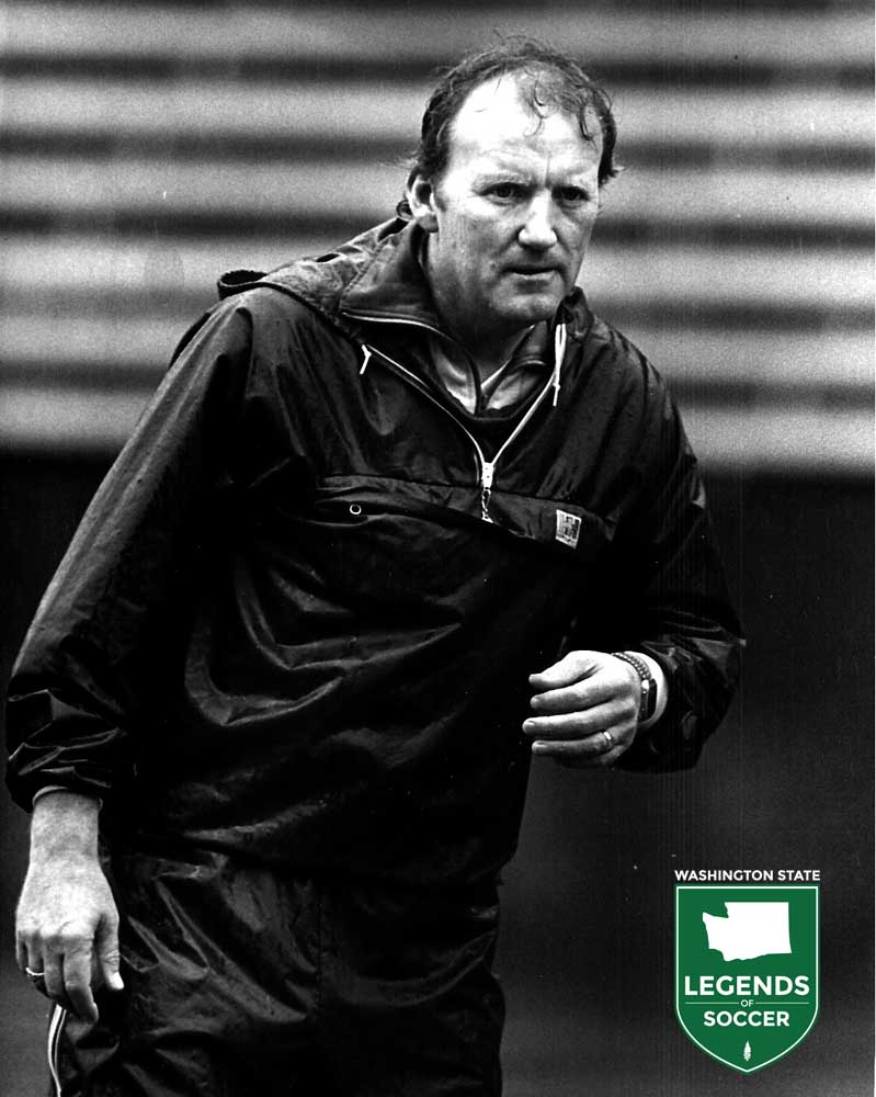 Former Sounders captain and coach Jimmy Gabriel took over as FC Seattle Storm head coach in 1986. (Joanie Komura photo)