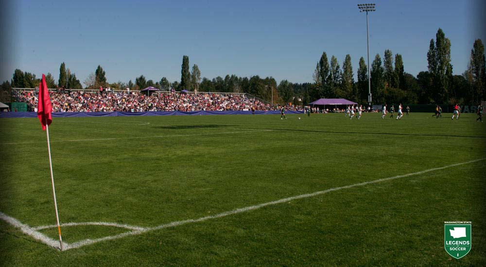 After bouncing around campus and the region, the Washington men's and women's programs finally have a dedicated home as Husky Soccer Stadium opens in 1997.